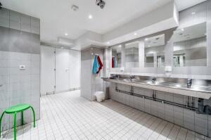 Dusch och WC-utrymmen